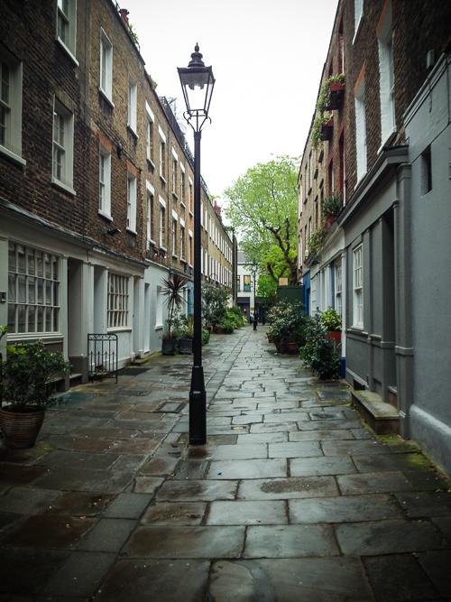 Lieblingsstraße in Fritzrovia/London!