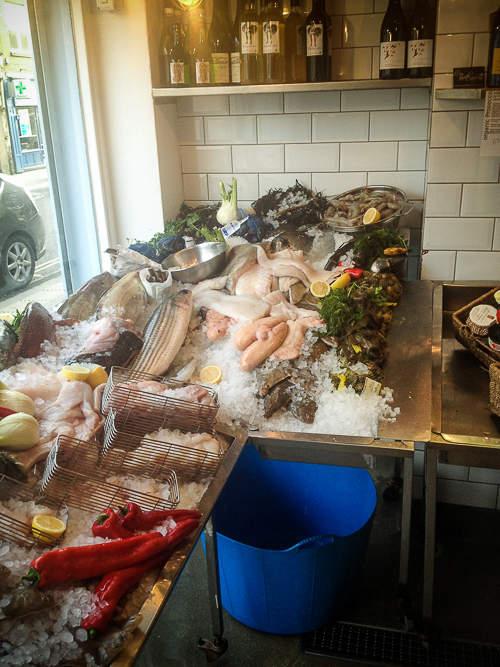 "Unser liebster Fischladen ""fin and flounder"""