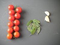 Pasta mit Kalmar, Tomaten & Salbeibutter